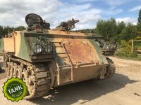 Desert camouflage tank